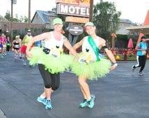 Running Tutu - Race Tutu - Adult Tutu - Lime Green Tutu - Neon Tutu - Marathaon Tutu - 5K Tutu - Tutu - Fun Run Tutu- Fairy Tutu - Costume