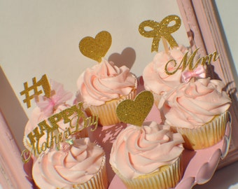 Mother's Day Cupcake Toppers (6)