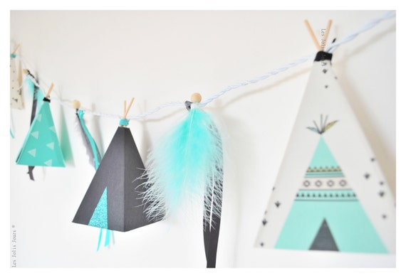 Nightlight tipis TYEE GREY