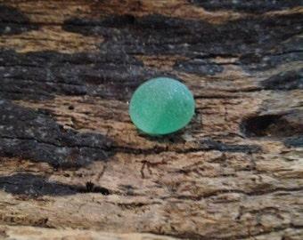 Lake Erie Green swirled beach glass marble