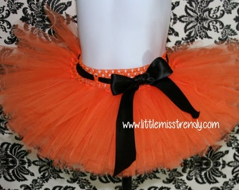 Orange Tutu, Orange Halloween tutu, Halloween Tutu Skirt, Pumpkin Tutu, Orange Tutu Skirt, Girls Orange Tutu Skirt, Girls Tutus, Halloween