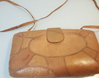 FREE  SHIPPING   Vintage Animal Skin Handbag