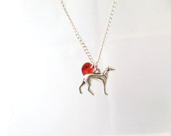 Whippet / Greyhound Necklace