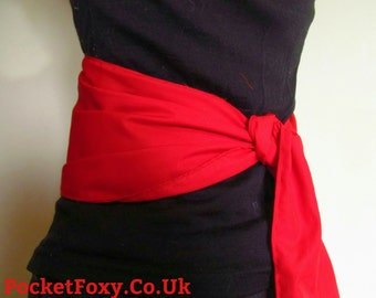 Custom Assassins Creed Sash Cosplay Costume Altair Ezio Auditore Connor Edward Kenway Video Game Dress Up Belt Colour Red Black Flag Ninja