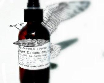 Organic Room Spray - Sweet Dreams Medley - Aromatherapy Spray - Linen Spray - Aromatherapy Essential Oil Spray - Aromatherapy Sleep Spray