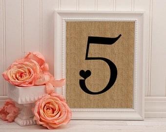 Custom Country Wedding Table Number Burlap Sign Rustic Table Number For Wedding Burlap Table Number Country Wedding Table Number