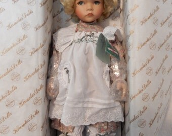 Mary, Mary Porcelain Doll by Dianna Effner