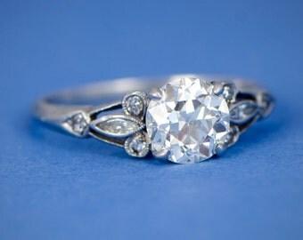 Glass Diamond Solitaire Napkin Ring