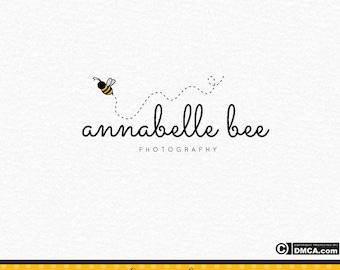 Premade Bee Logo, Photography Logo, Photograph Watermark, Bumble Bee Logo, Photographer Logo, Logo Design, Business Logo, Branding Logo