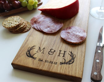 Cheese Board, Personalized Serving Tray, Serving Platter, Cutting Board, Fathers Day Gift, Wedding, Anniversary Gift, Boyfriend, Husband