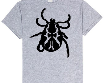 Tick Bug T Shirt Unisex sizes small- 4XL Unisex Insect Tshirt Comfy Bugs Tee t-shirt