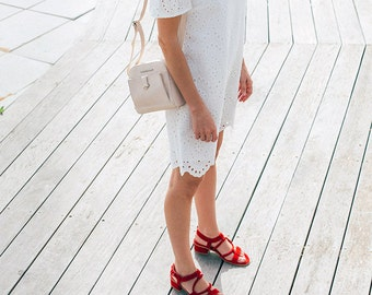 Red Leather Sandals For Wedding, Sexy Shoes For Summer, Designer Sandals, comfortable shoes for work, wedding shoes low heel, Heeled Sandals