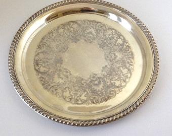 WmRogers Silverplate tray