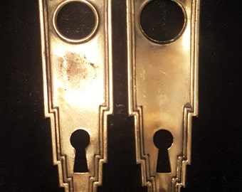 Art Deco Antique Back Plates 530946