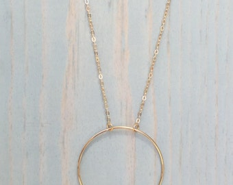 14KT goldfill Gold fill Iolite Sphere Necklace