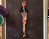 """Julie Nutting """"Natalie"""" Prima Doll Paper Embellishment"""