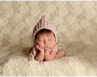Pixie Bonnet - Baby Bonnet - Newborn Outfit for Pictures - Newborn Bonnet - Bonnets for Babies - Infant Hats - Bonnet Baby - Baby Girl Hat