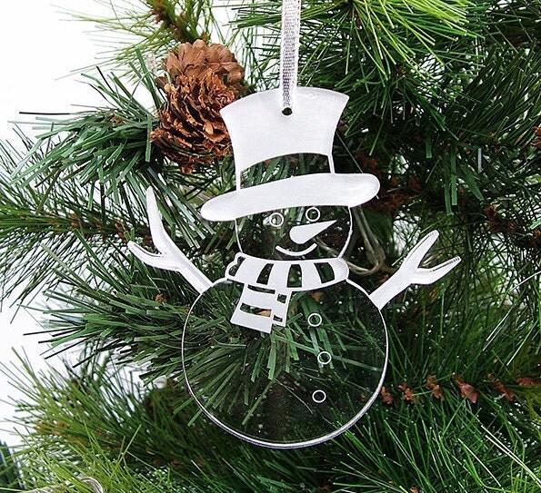 Decorate Christmas Tree Like Snowman: Snowman Christmas Tree Decorations Christmas Decor