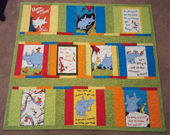 Horton Hears a Who quilt