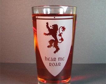 Drink glass ,Hear me roar