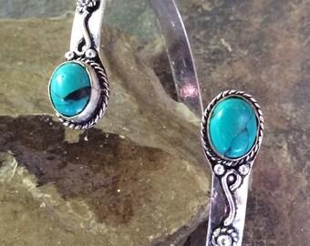Silver Plated Bracelet,Adjustable Bracelet,Tribal Bracelet,Gemstone,Boho Bracelet,Gypsy Bracelet,Bohemian Bracelet,Gifts For Her,Bracelets