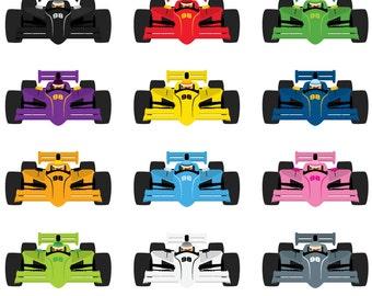 Race Car Clipart Etsy