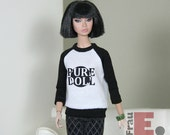 "Doll T-shirt ""Pure Doll"" - weiss"