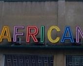 AFRICAN Neon Sign in Kinshasa