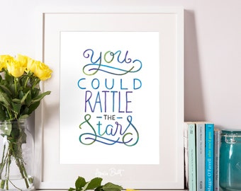 You Could Rattle The Stars - Throne of Glass quote