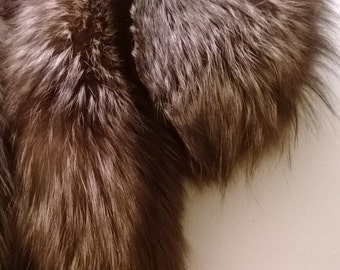 Two Tone Fox Fur Collar - Vintage