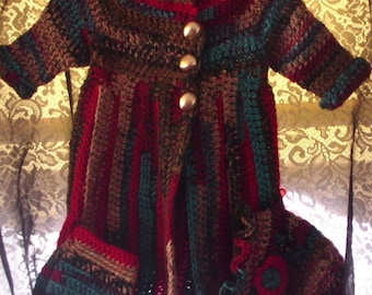 Infant Dakota sweater with leg warmers and hat