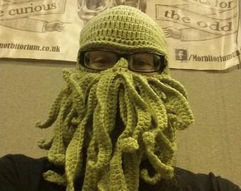 Cthulhu ski-mask / beanie / balaclava / knit cap