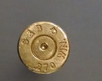 Fired Bullets (4) 270 Caliber Bullet Casings, Empty Shells, Free Shipping