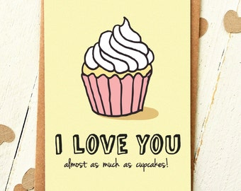 Funny Love Cards - Valentines Card - Funny Boyfriend Card - Funny Anniversary Card - I Love You Card - Humour - Love Card - Funny Cards