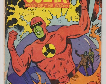 Doctor Solar; Vol 1, 28 Bronze Age Comic. VG- (3.5). April 1981 Gold Key Comics (Whitman Comics Variant)