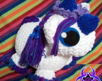 Borderlands 2 Amigurumi crochet Butt Stallion plush *2 different sizes*