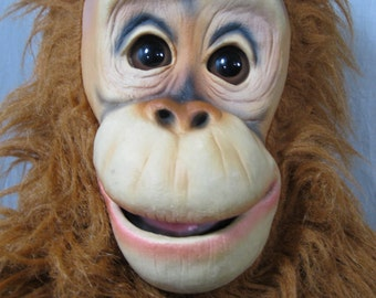 Axtell Expressions Amazing Apes Orangutan Hand Puppet