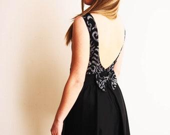 Backless Dress Pattern Etsy