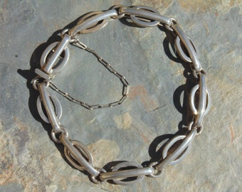 Reveriano Castillo - Vintage Reveri Sterling Silver Link Bracelet