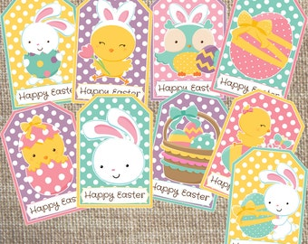 Printable Easter Gift Tags
