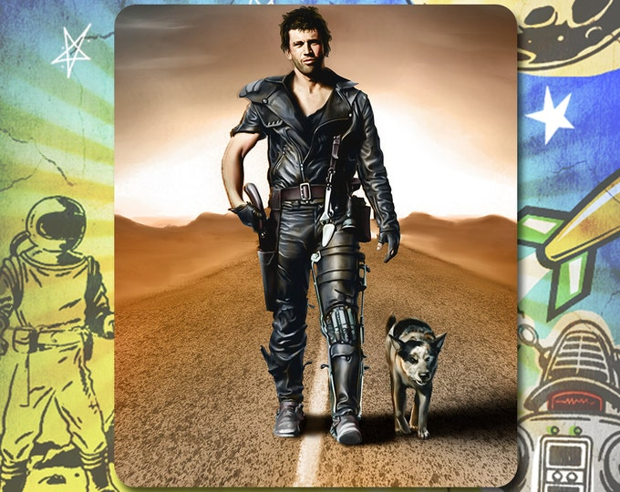 Mad Max Mel Gibson Road Warrior Mouse Pad