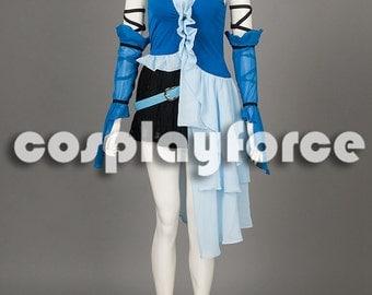 Final Fantasy Yuna Cosplay Costume 3th mp001316