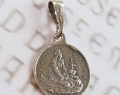 Medal - Saint Mary Magdalene - Sterling Silver - 17.5mm