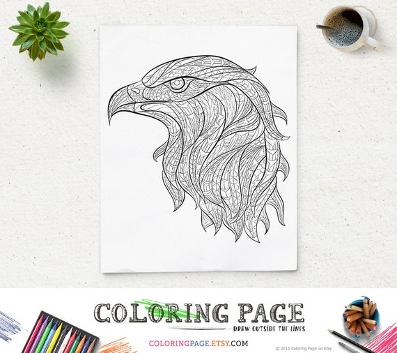 Printable Coloring Pages Eagle