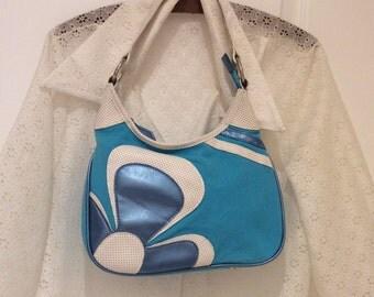 Retro Mod zipper purse vintage