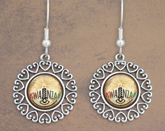 Kwanzaa Earrings - 57960
