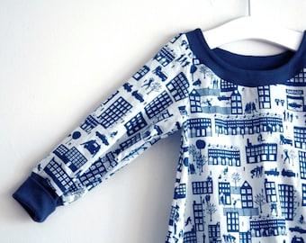 Baby Tunic Dress - Liberty Dress - Modern Baby Tunic