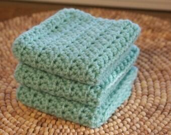 Crochet cloths