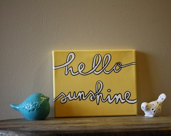 Hello Sunshine 8x10