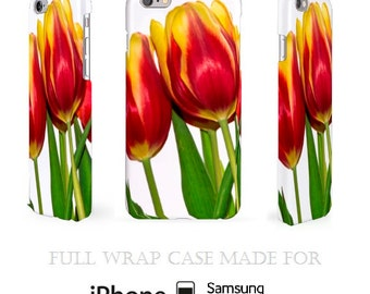 Tulips iPhone Case Samsung Cases iPhone Cases iPod Cases Galaxy Covers Flower Cases iPhone 6S Case iPod 6 Case Note Cases White iPhone 6S